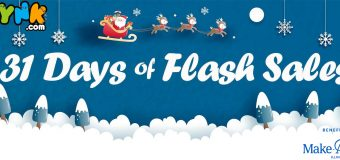 "Get Ready! ""Toynk Toys"" 31 Days of Flash Sales Begin This Black Friday!"