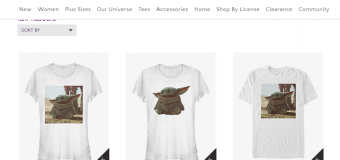 Baby Yoda Merchandise Watch: Update #1