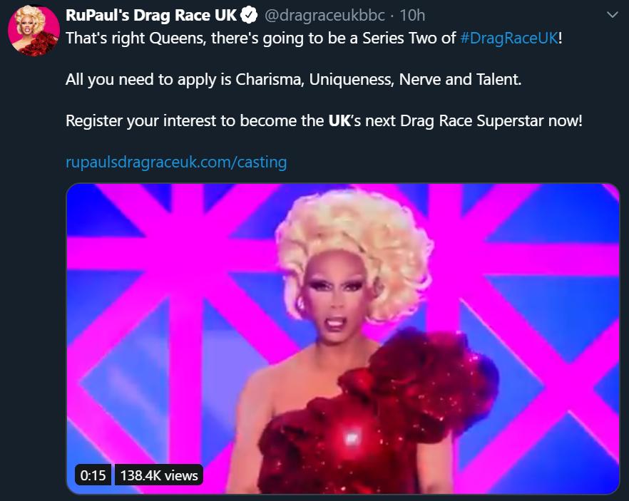 RuPauls Drag Race UK Season 2
