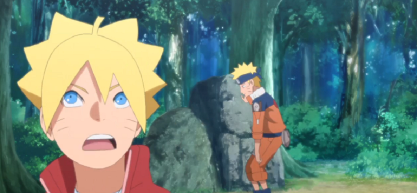 Assignment Jiraiya's Assignment Boruto anime 132 review