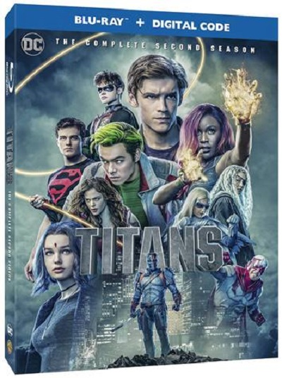 Titans Season 2 Blu-ray release data March 3, 2020