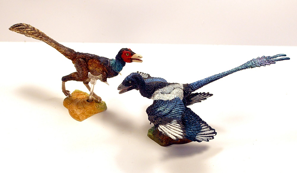 Creative Beast Studio Eastern 2-pack- Microraptor g.and Mononykus o.