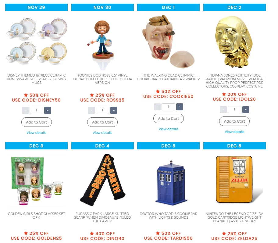 Toynk Toys 2019 Black Friday Flash Sales