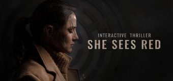 "Mature Interactive Thriller ""She Sees Red"" Gets December App Store and Google Play Release!"