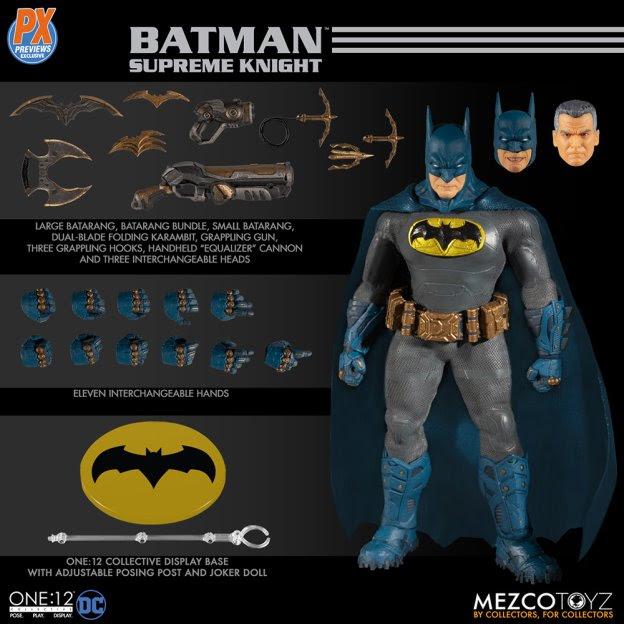 batman mezco toys