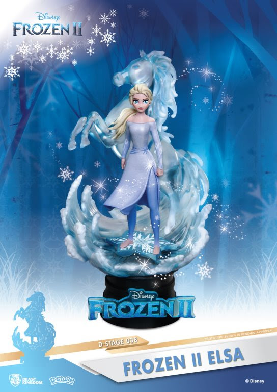 Elsa Frozen 2 figure