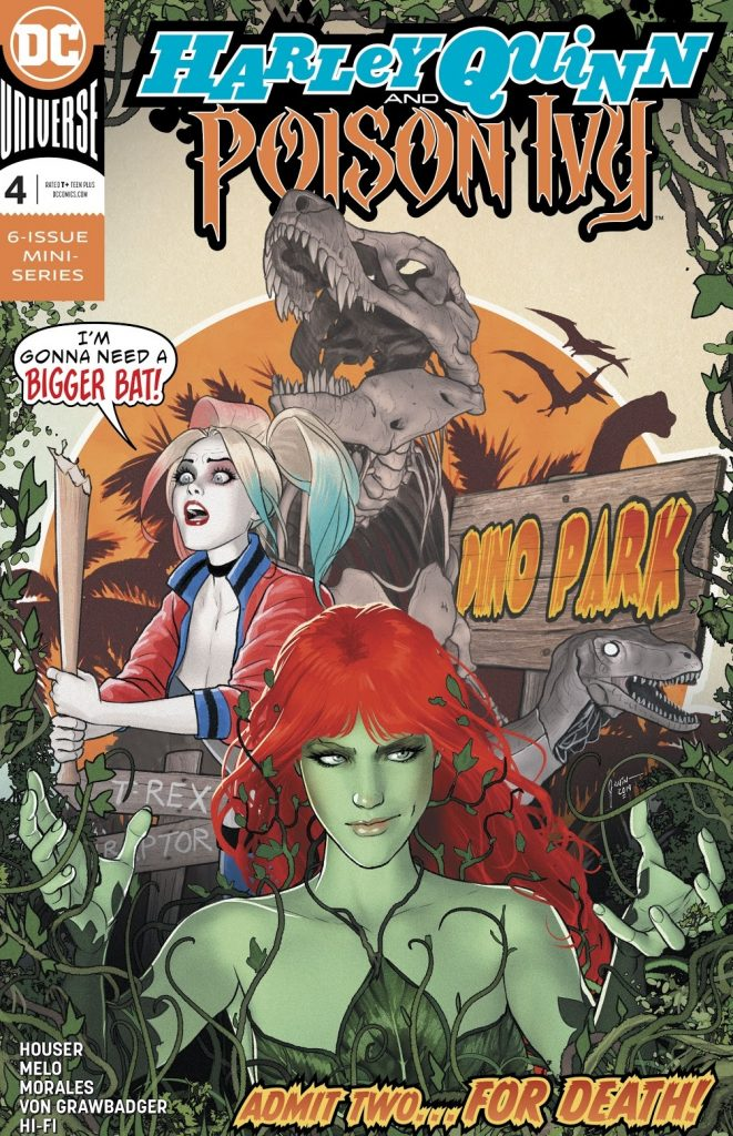 harley quinn and Poison Ivy issue 4 review