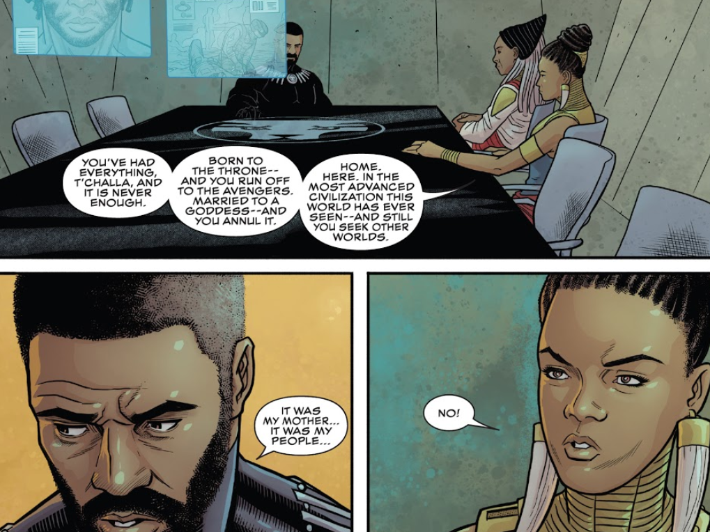 Black Panther Issue 19 review