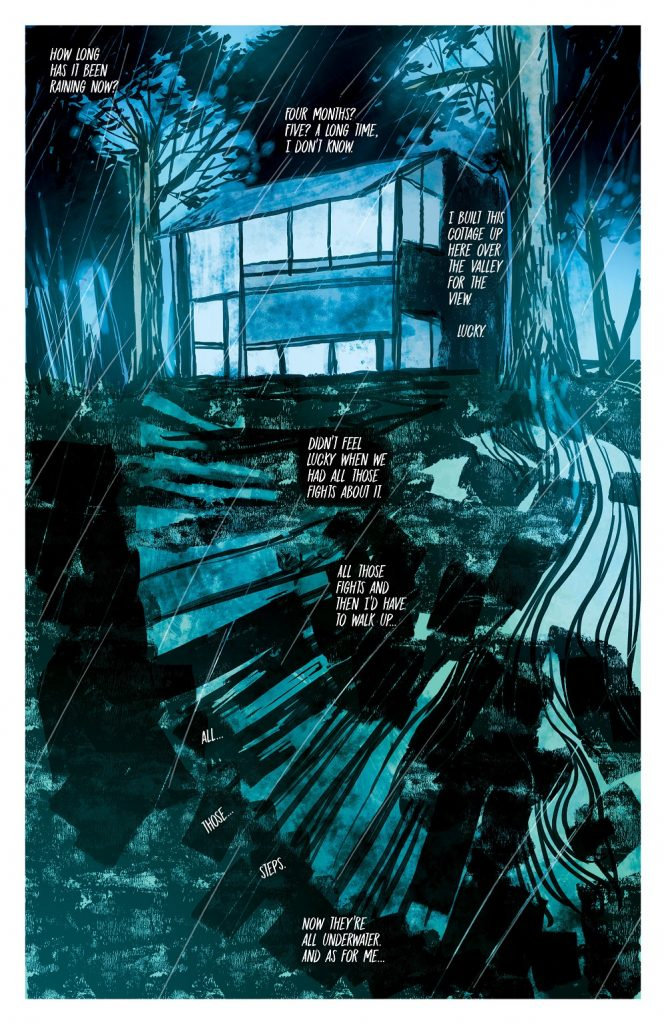 In the Flood graphic novel