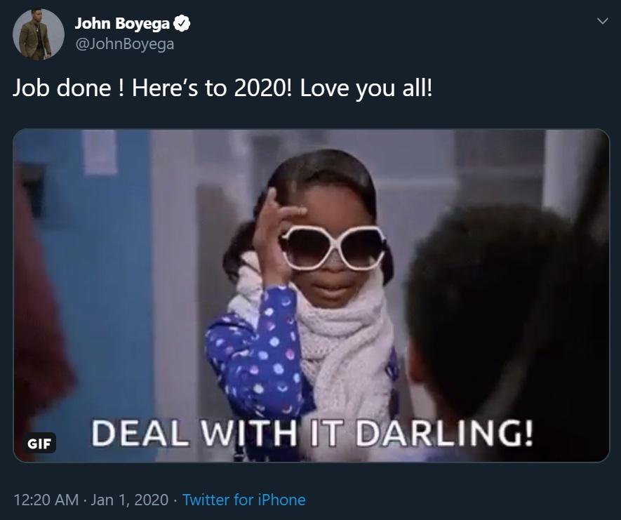 John Boyega Reylo