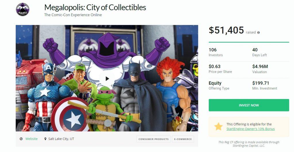 Megalopolis investor campaign