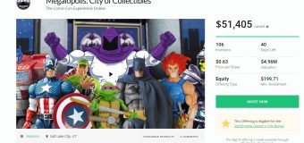 "You Can Become a ""Megalopolis: City of Collectibles"" Investor Right Now!"