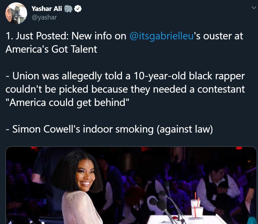 gabrielle union america's got talent