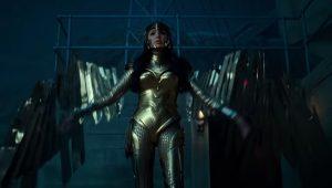 wonder woman 1984 gold armor