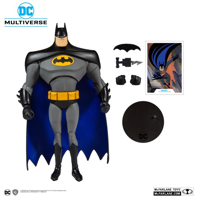 batman animated series 2020 McFarlane Toys