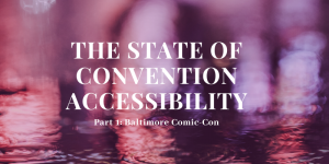 Convention Accessibility