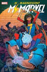 Magnificent Ms Marvel Issue 13 cover