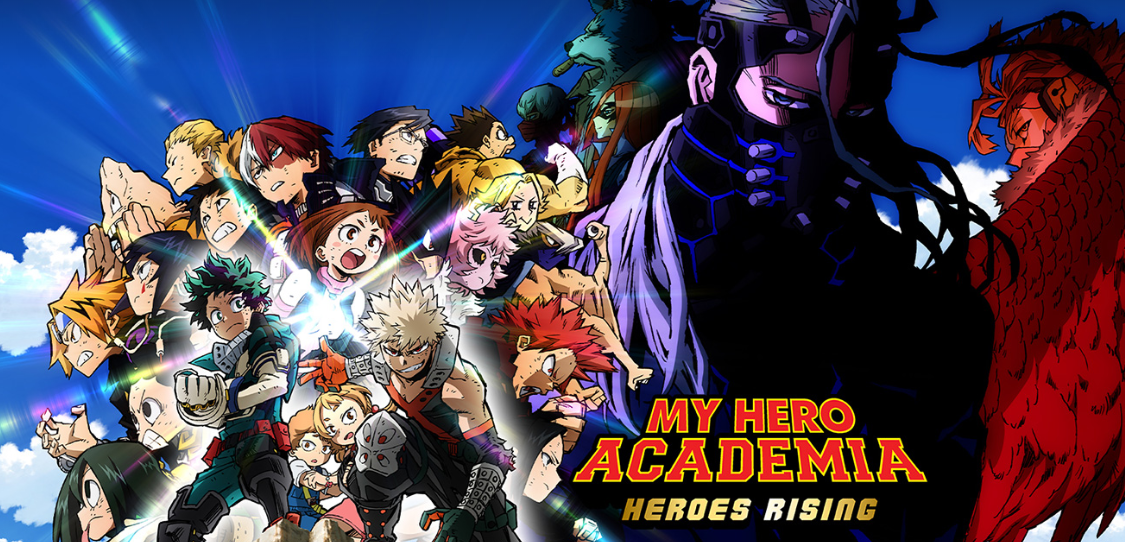 My Hero Academia Heroes Rising Tix On Sale For North America Uk