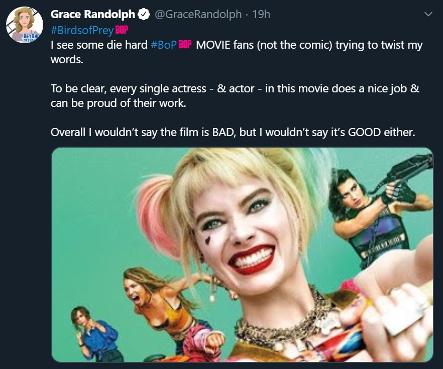 Harley Quinn and the Birds of Prey movie review