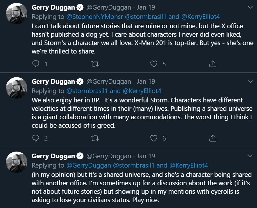 Gerry Duggan Storm 6