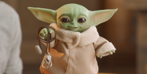 Baby Yoda Merchandise Watch: Update #11: New Hasbro Toy!