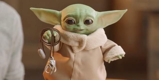 Baby Yoda New Hasbro Toy