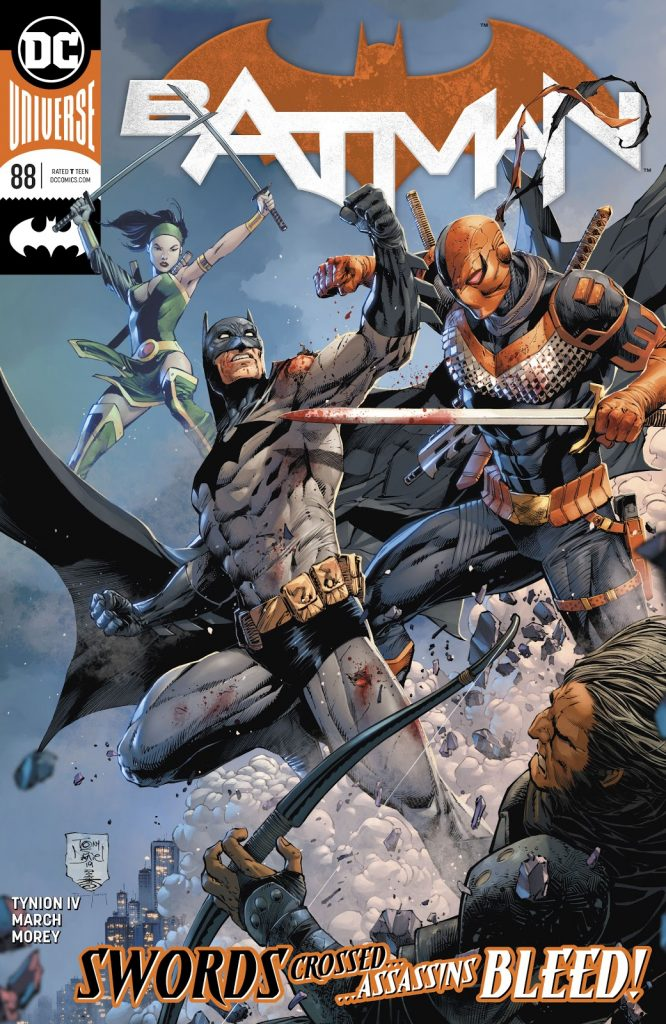 batman issue 88 review