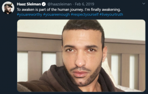Haaz Sleiman The Eternals gay character