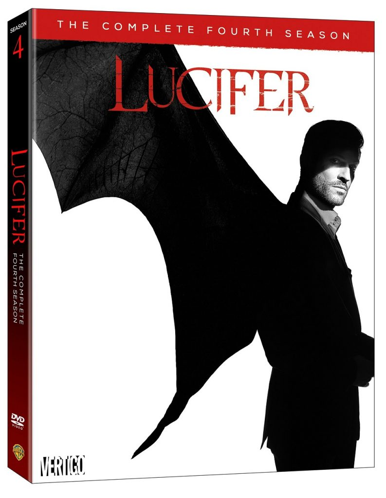 Lucifer season 4 DVD release Blu-ray