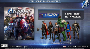 Marvel Avengers 2020 game preorder
