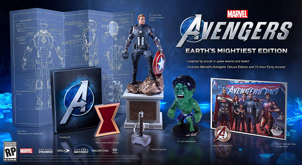 Marvel Avengers Game Collector Edition
