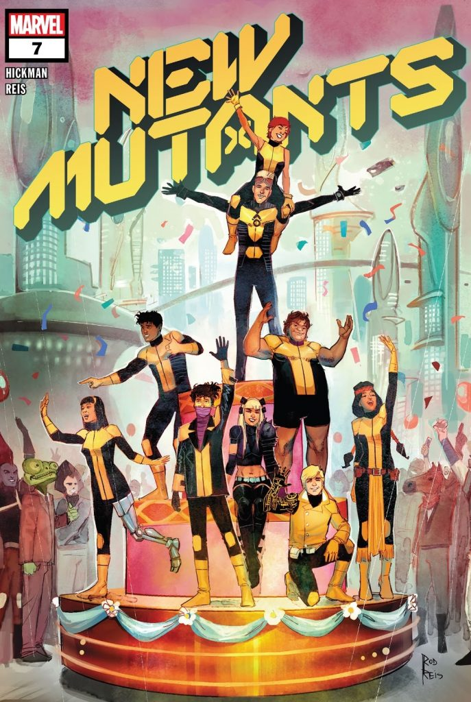 New Mutants Issue 7 review