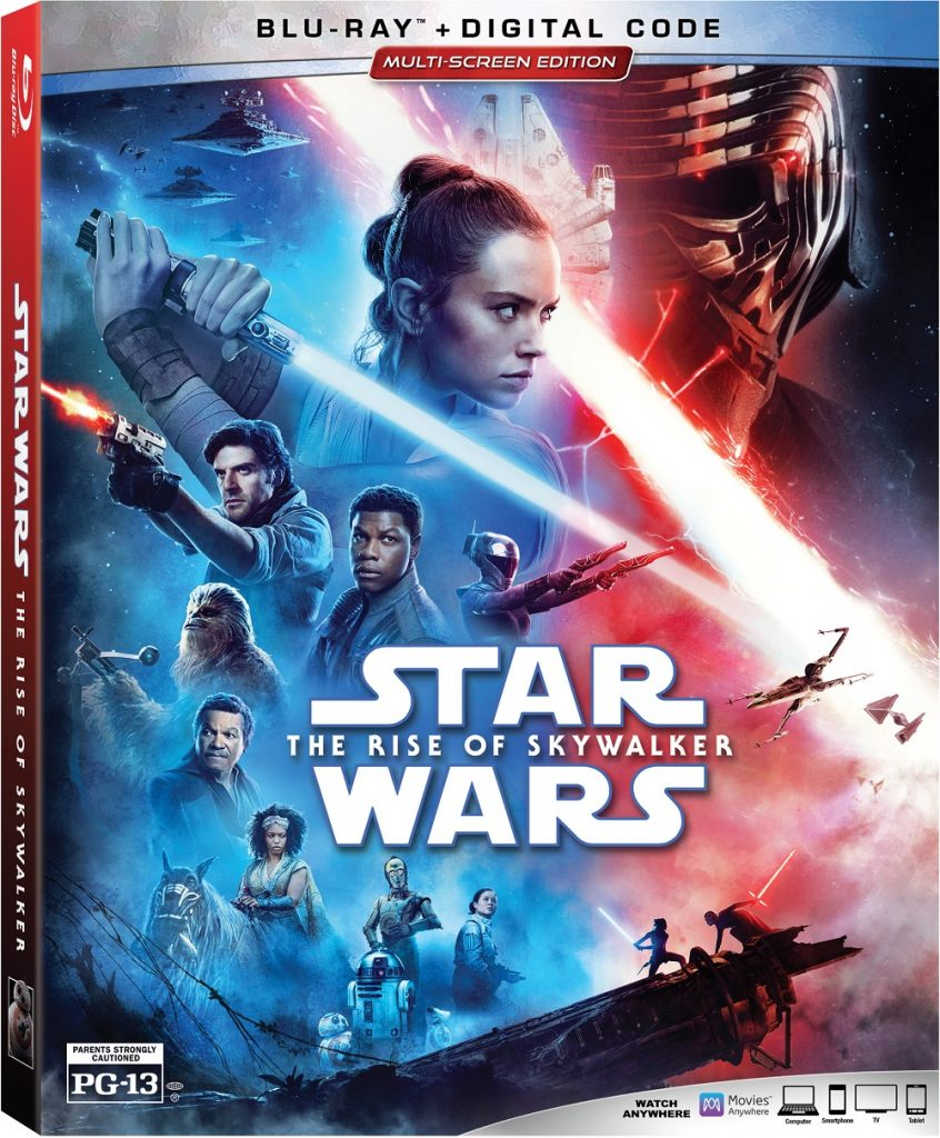 the rise of skywalker blu-ray star wars