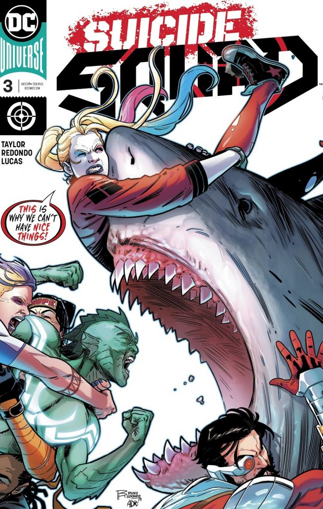 suicide squad issue 3 review