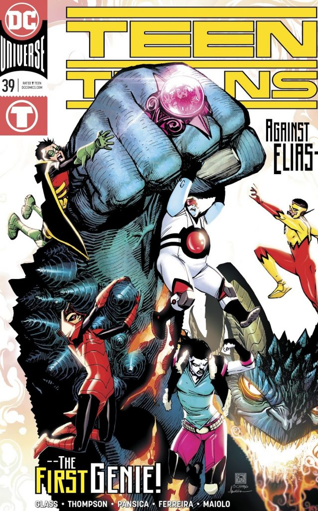 Teen Titans Issue 39 review