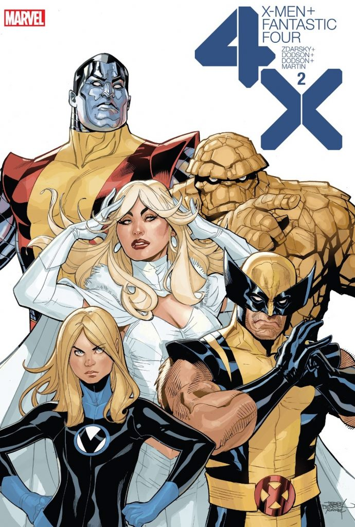 X-Men Fantastic Four Issue 2 review