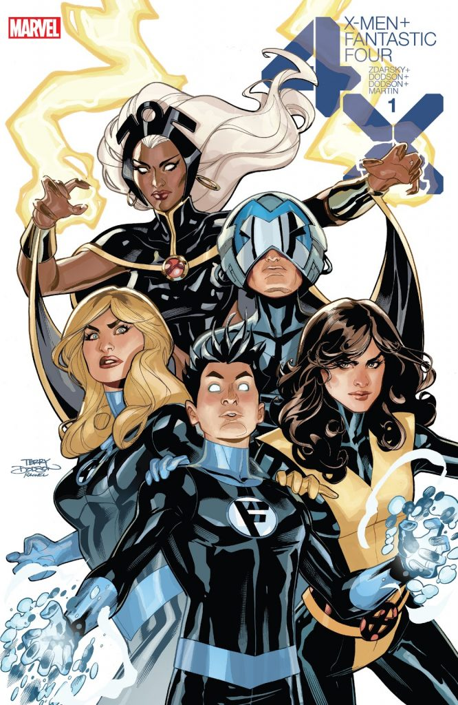 X-Men Fantastic Four Issue 1