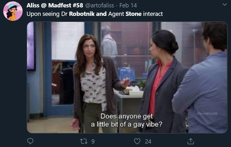 Stone Dr. Robotnik