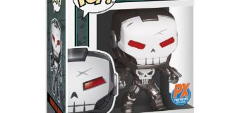 New Funko PREVIEWS Exclusive 'Punisher War Machine' & 'Spider-Man' Collectibles Revealed