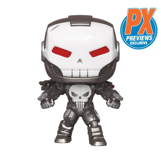 punisher previews funko