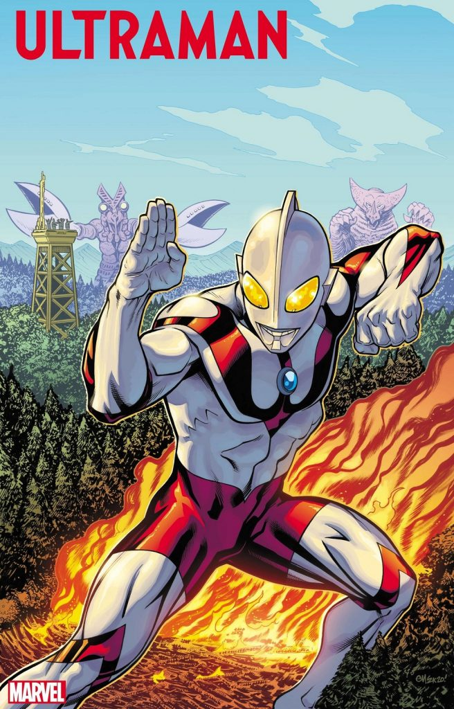 the rise of ultraman issue 1 2020