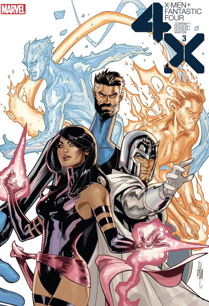 X-Men Fantastic Four Issue 3