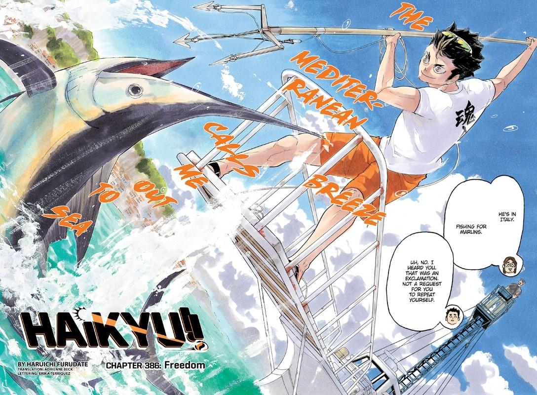 Haikyuu chapter 386