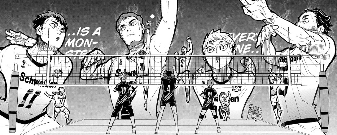 Haikyuu chapter 388