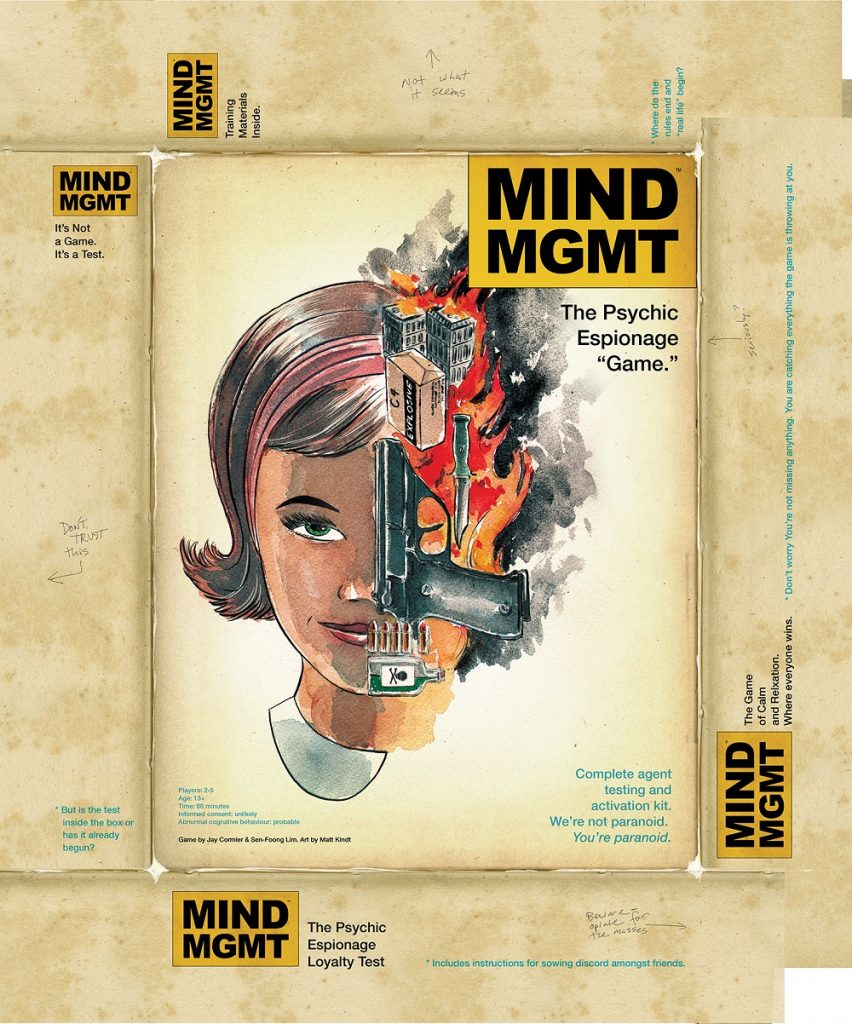 MIND MGMT board game