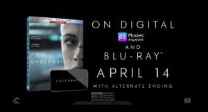 Underwater Blu-ray Digital DVD release April 2020