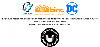 "New ""Comicbook United Fund"" Established with Backing from DC and Oni-Lion Forge Publishing Group"