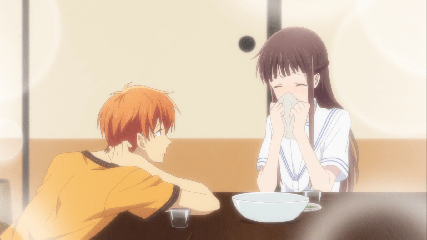 Eat Somen with Your Friends Fruits Basket Kyoru