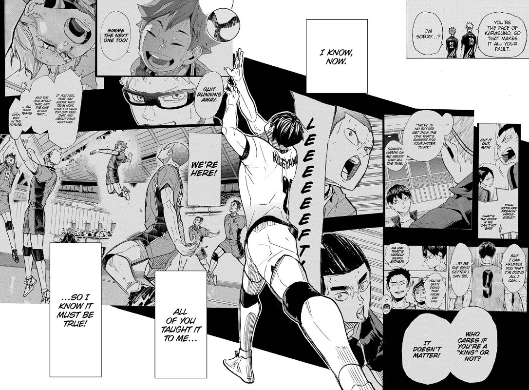 Haikyuu chapter 389