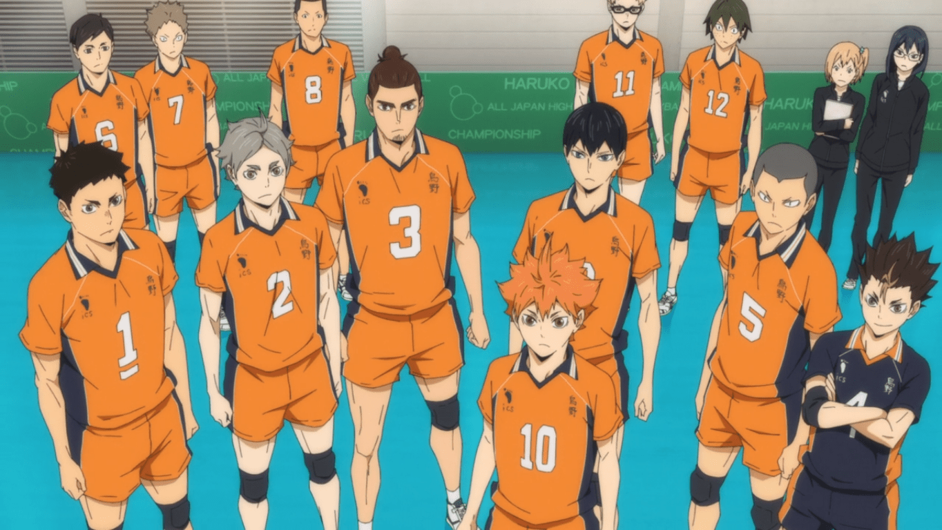 The Second Day Haikyuu